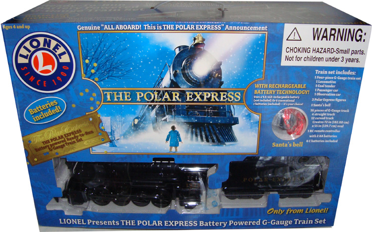Details about Polar Express Lionel Train Set G-Gauge 7-11176 Toy MIB