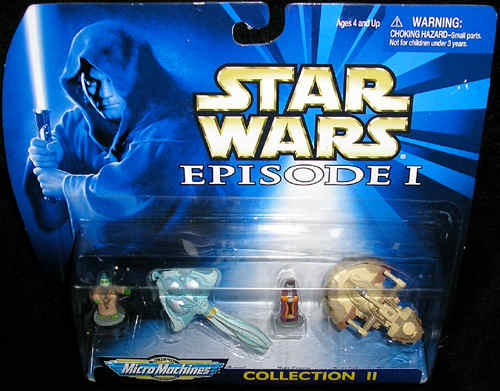 Micro Machines Star Wars Nute Gunray Episode 1