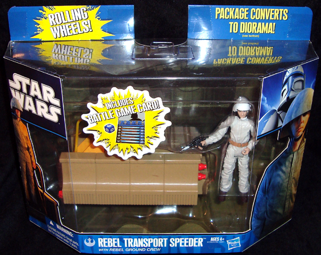 Rebel transport speeder